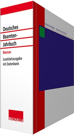Abbildung von Albonesi   Deutsches Beamten-Jahrbuch Bremen • mit Aktualisierungsservice   1. Auflage   2020   beck-shop.de