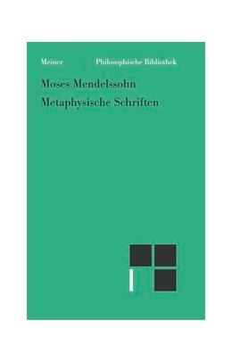 Abbildung von Mendelssohn | Metaphysische Schriften | 2008 | 594