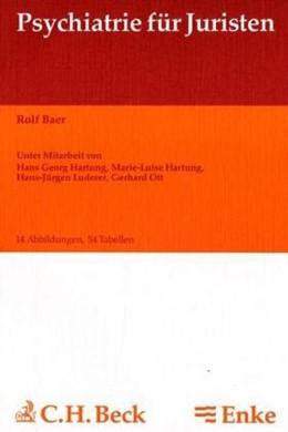 Abbildung von Baer | Psychiatrie für Juristen | 1988