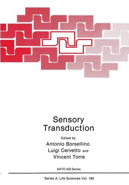 Sensory Transduction | Borsellino / Cervetto / Torre, 1990 | Buch (Cover)
