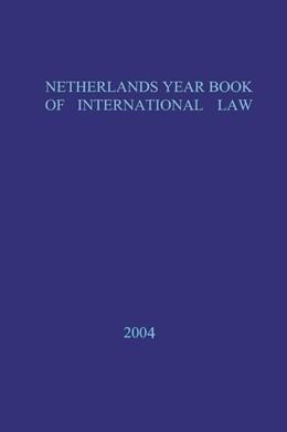 Abbildung von Netherlands Yearbook of International Law | 2012 | Volume 35 (2004) | 35