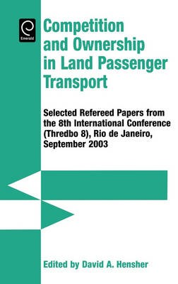 Competition & Ownership in Land Passenger Transport | Hensher, 2005 | Buch (Cover)