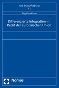 Differenzierte Integration im Recht der Europäischen Union | Brackhane, 2008 | Buch (Cover)