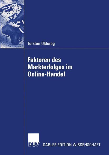 Faktoren des Markterfolges im Online-Handel | Olderog, 2003 | Buch (Cover)