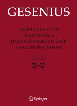 Abbildung von Gesenius / Donner | Hebräisches und Aramäisches Handwörterbuch über das Alte Testament | 2008 | 5. Lieferung Sade bis Sin