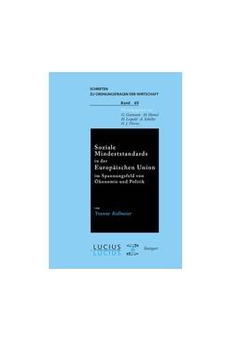 Abbildung von Kollmeier | Soziale Mindeststandards in der Europäischen Union im Spannungsfeld von Ökonomie und Politik | 1. Auflage | 2001 | 65 | beck-shop.de