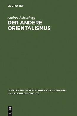 Abbildung von Polaschegg | Der andere Orientalismus | Reprint 2011 | 2005 | Regeln deutsch-morgenländische... | 35 (269)
