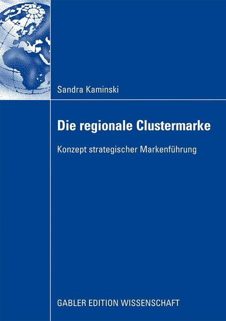 Die regionale Clustermarke | Kaminski, 2009 | Buch (Cover)