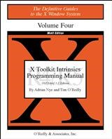 Abbildung von Adrian Nye / Tim O'Reilly | X Toolkit Intrinsics Prog Vol 4M | 1992
