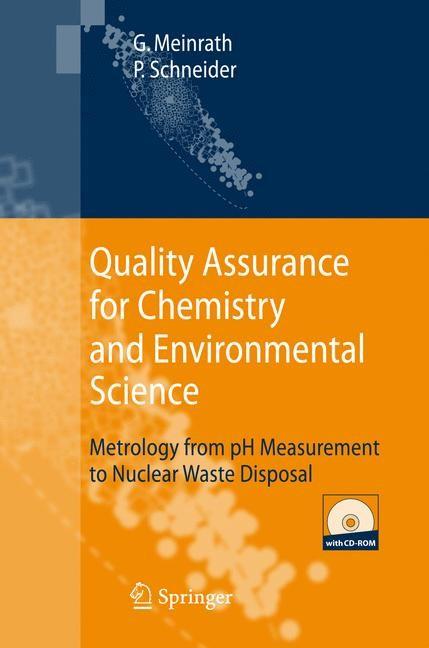 Abbildung von Meinrath / Schneider | Quality Assurance for Chemistry and Environmental Science | 2007