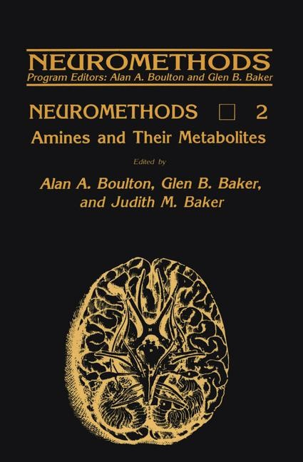 Amines and Their Metabolites | Boulton / Baker, 1985 | Buch (Cover)