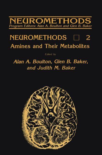 Abbildung von Boulton / Baker   Amines and Their Metabolites   1985
