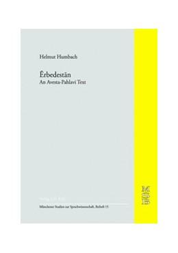 Abbildung von Forssman / Hoffmann / Narten   Erbedestan   1990   An Avesta - Pahlavi Text   15