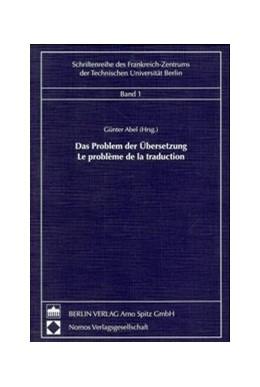 Abbildung von Abel | Das Problem der Übersetzung - Le problème de la traduction | 1999 | 1