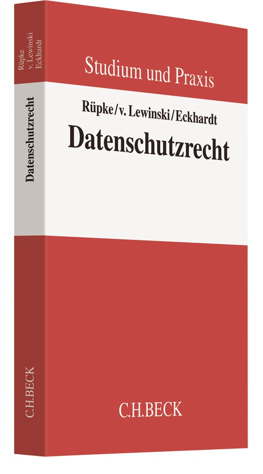 Datenschutzrecht   Rüpke / v. Lewinski / Eckhardt, 2018   Buch (Cover)