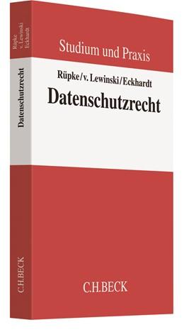 Abbildung von Rüpke / v. Lewinski | Datenschutzrecht | 1. Auflage | 2018 | beck-shop.de