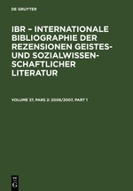 2006/2007 | Reprint 2011, 2008 | Buch (Cover)