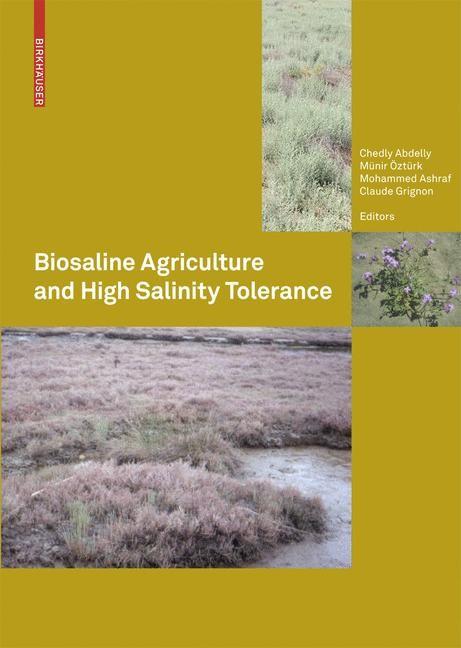 Abbildung von Abdelly / Öztürk / Ashraf / Grignon | Biosaline Agriculture and High Salinity Tolerance | 2008
