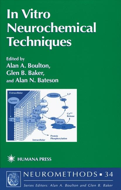 In Vitro Neurochemical Techniques | Boulton / Baker / Bateson, 1998 | Buch (Cover)