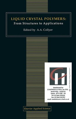 Abbildung von Collyer | Liquid Crystal Polymers: From Structures to Applications | 1992 | 1992 | 1