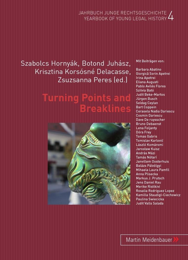 Turning Points and Breaklines | Juhász / Hornyák / Korsósné Delacasse / Peres, 2009 | Buch (Cover)