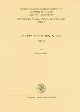 Abbildung von / Kleiss   Karawanenbauten im Iran   2001   8
