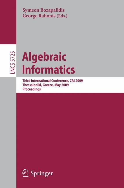 Abbildung von Bozapalidis / Rahonis | Algebraic Informatics | 2009