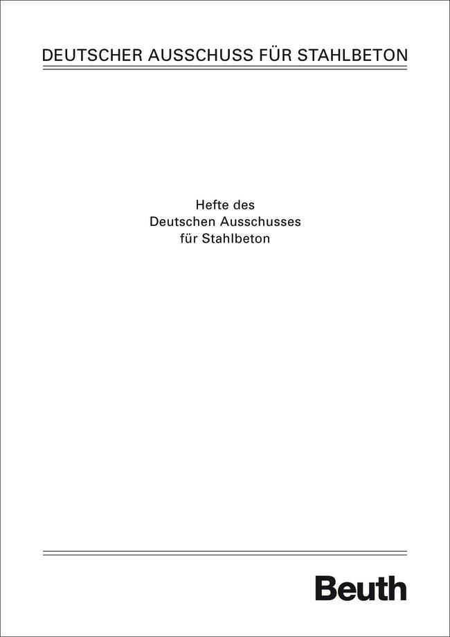 Abplatzversuche an Prüfkörpern aus Beton, Stahlbeton und Spannbeton bei verschiedenen Temperaturbeanspruchungen, 1988 | Buch (Cover)