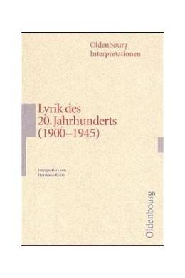 Abbildung von Korte | Lyrik des 20. Jahrhunderts (1900-1945) | 2000