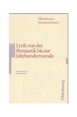 Abbildung von Gräff | Lyrik von der Romantik bis zur Jahrhundertwende | 2000 | 96