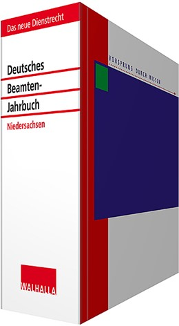 Abbildung von Wallhalla Fachredaktion | Deutsches Beamten-Jahrbuch Niedersachsen • mit Aktualisierungsservice | 1. Auflage | 2020 | beck-shop.de