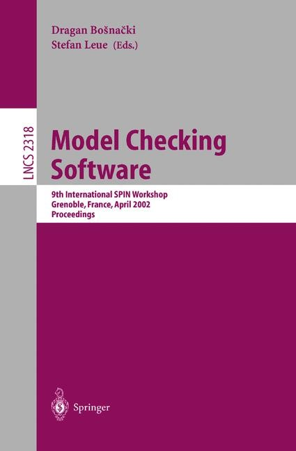 Model Checking Software | Bosnacki / Leue, 2002 | Buch (Cover)