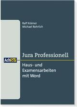 Haus- und Examensarbeiten mit Word | Krämer / Rohrlich, 2005 | Buch (Cover)