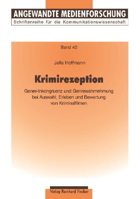 Krimirezeption | Hoffmann, 2009 (Cover)