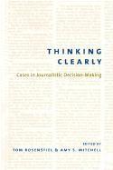 Abbildung von Rosenstiel / Mitchell | Thinking Clearly | 2003