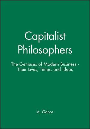 Abbildung von Gabor   The Capitalist Philosophers   2000