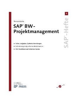 Abbildung von Lüdtke | SAP BW-Projektmanagement | 2004 | SAP-Heft 8 | e