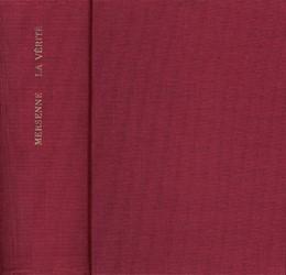 Abbildung von Mersenne | La vérité des sciences | Faksimile-Neudruck der Ausgabe Paris 1625 | 1969 | Contre les Sceptiques ou Pyrrh...