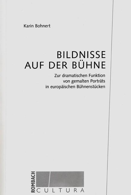 Abbildung von Bohnert | Bildnisse auf der Bühne | 2003