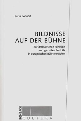 Abbildung von Bohnert   Bildnisse auf der Bühne   2003   Zur dramatischen Funktion von ...   31