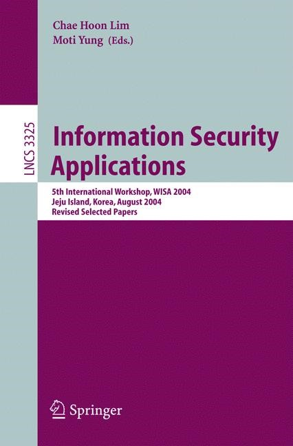 Information Security Applications | Lim / Yung, 2005 | Buch (Cover)