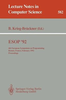 Abbildung von Krieg-Brückner | ESOP '92 | 1992 | 4th European Symposium on Prog... | 582