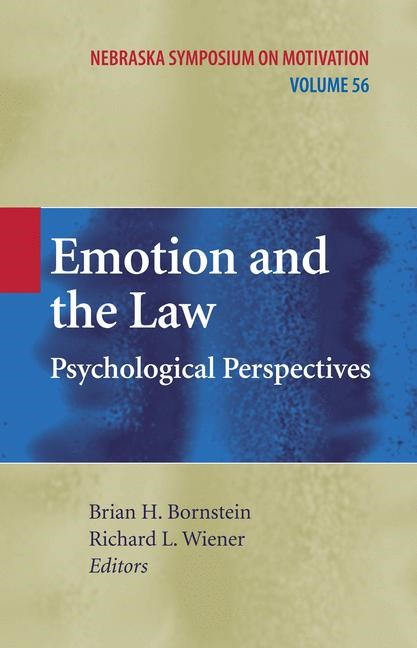 Emotion and the Law | Bornstein / Wiener, 2010 | Buch (Cover)
