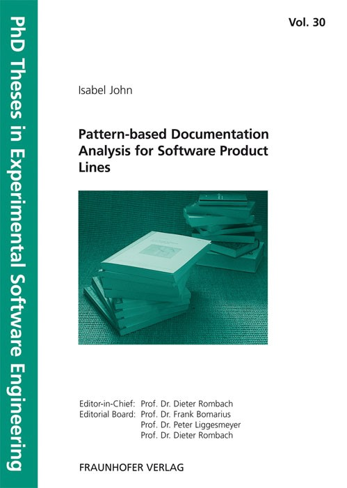 Pattern-based Documentation Analysis for Software Product Lines | / Rombach / Liggesmeyer / Bomarius, 2010 | Buch (Cover)
