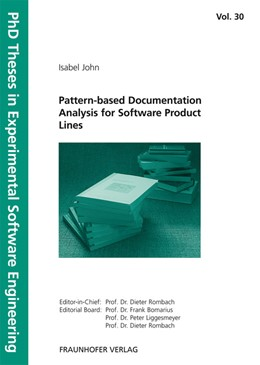 Abbildung von / Rombach / Liggesmeyer / Bomarius | Pattern-based Documentation Analysis for Software Product Lines | 2010 | 30