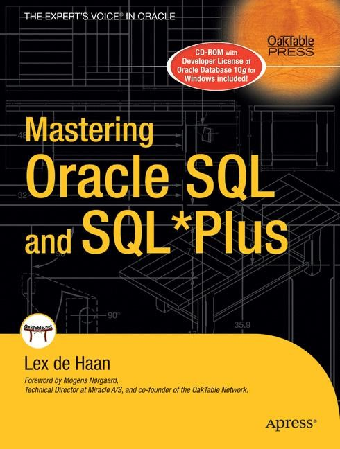 Abbildung von deHaan | Mastering Oracle SQL and SQL*Plus | 1st Corrected ed., Corr. 2nd printing | 2006