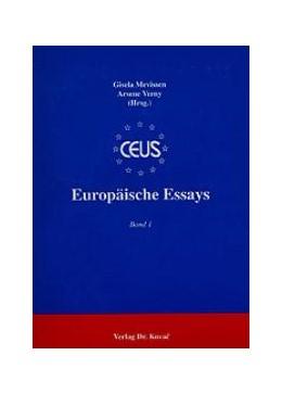 Abbildung von Mevissen / Verney | Europäische Essays | 1996