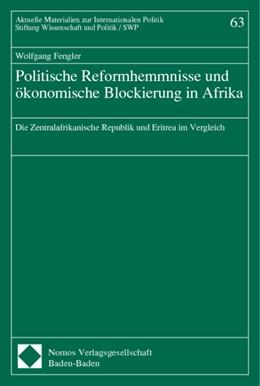 Abbildung von Politische Reformhemmnisse und ökonomische Blockierung in Afrika | 2001 | Die Zentralafrikanische Republ...