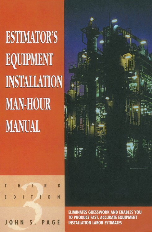 Abbildung von Page | Estimator's Equipment Installation Man-Hour Manual | 3rd ed. | 1999