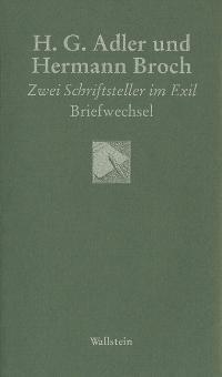 H. G. Adler und Hermann Broch | Adler / Broch, 2004 | Buch (Cover)